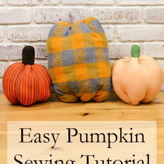 Easy Pumpkin Sewing Tutorial + Free Pattern // heatherhandmade.com