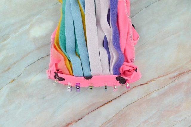 How to Make a Rainbow Unicorn Costume // heatherhandmade.com