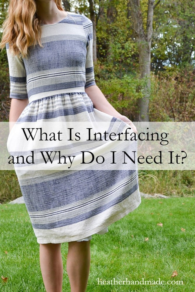 What is Interfacing? // heatherhandmade.com
