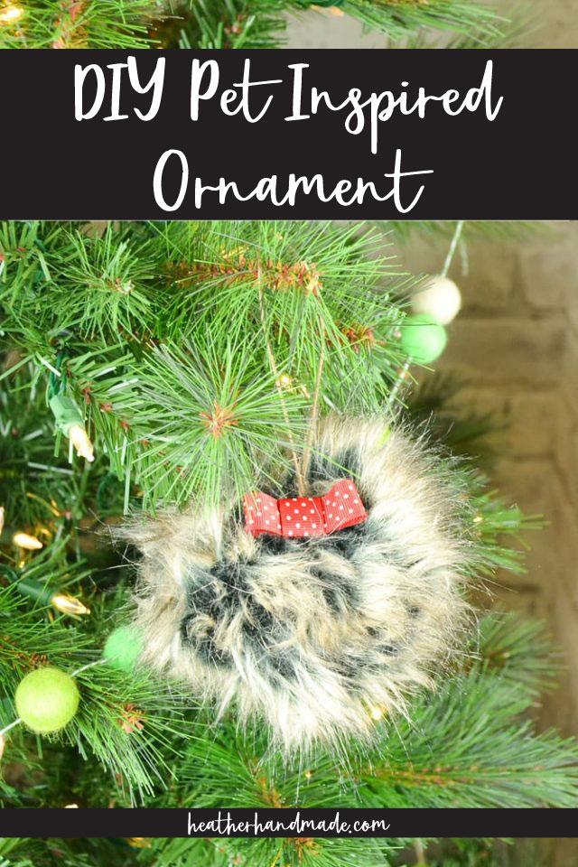 DIY Dog Ornament Tutorial