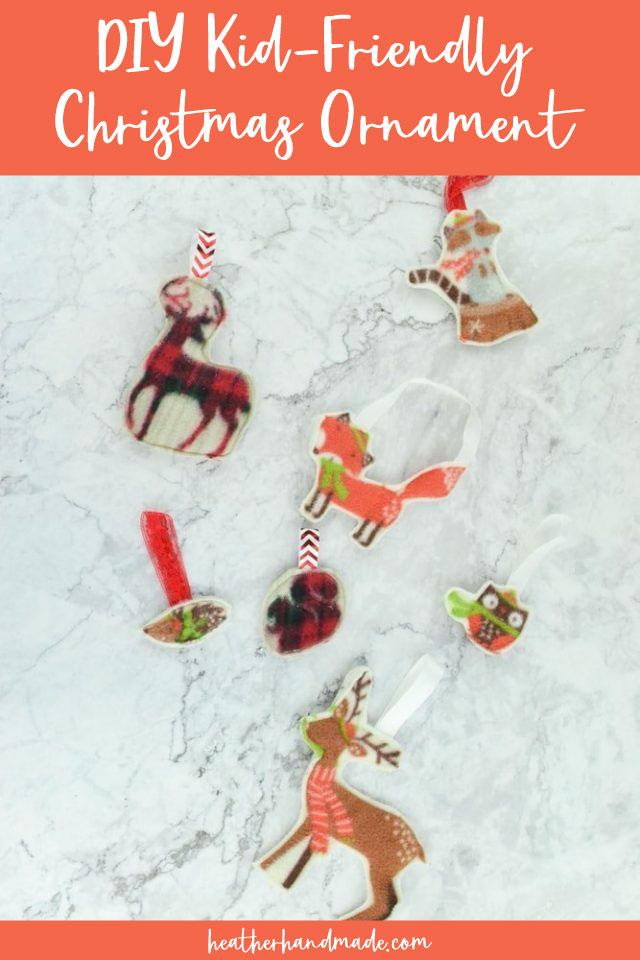 DIY Kid-Friendly Christmas Ornament