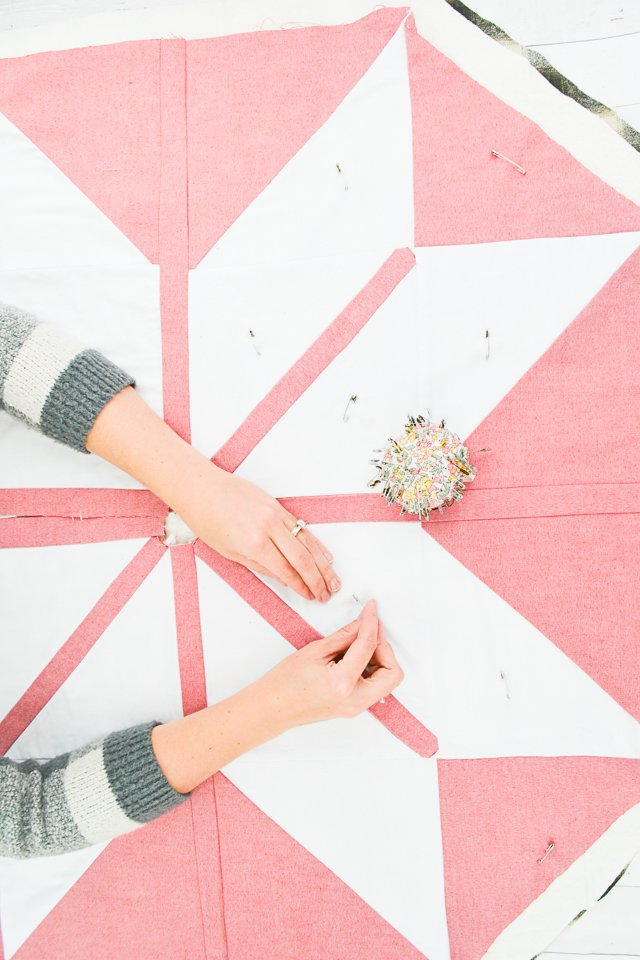 safety pin quilt