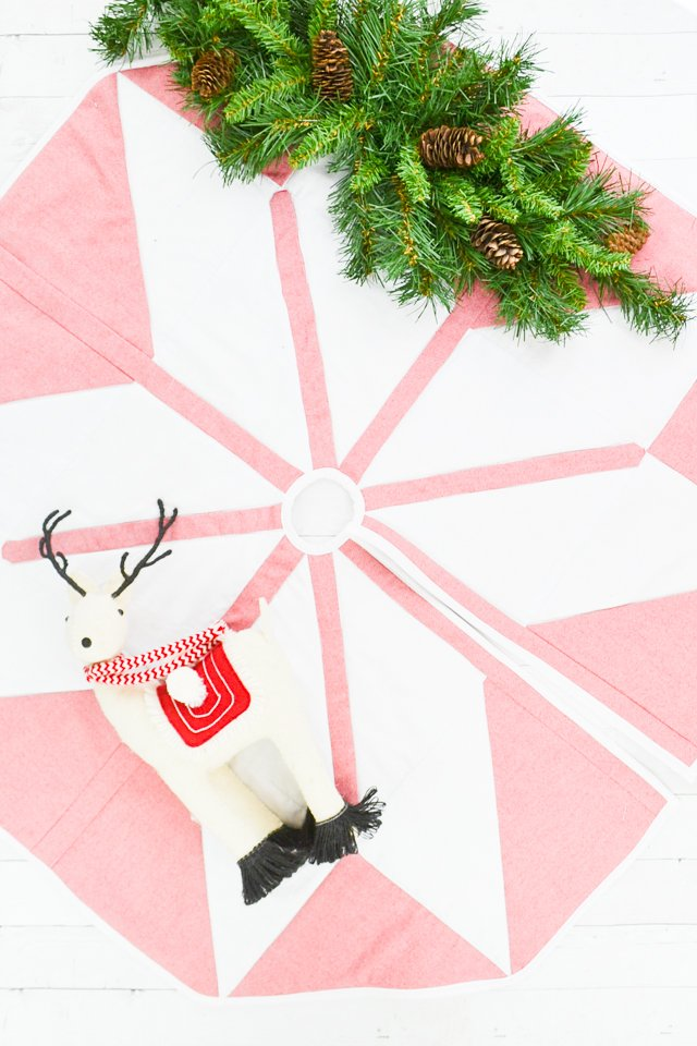 quilted tree skirt free pattern