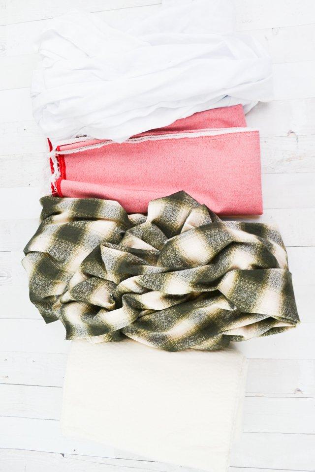 christmas tree skirt supplies