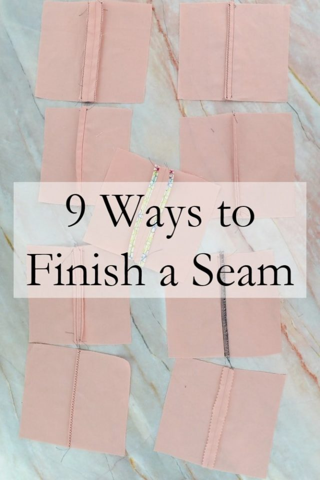 How to Finish a Seam // heatherhandmade.com
