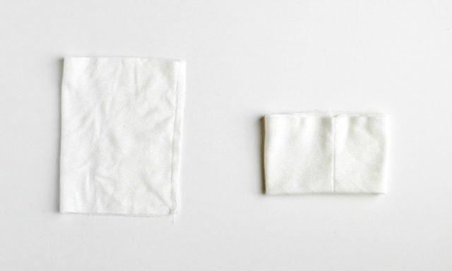 fold in half and sew seam