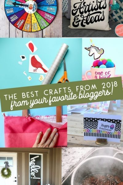 Best Craft Tutorials from 2018 // heatherhandmade.com