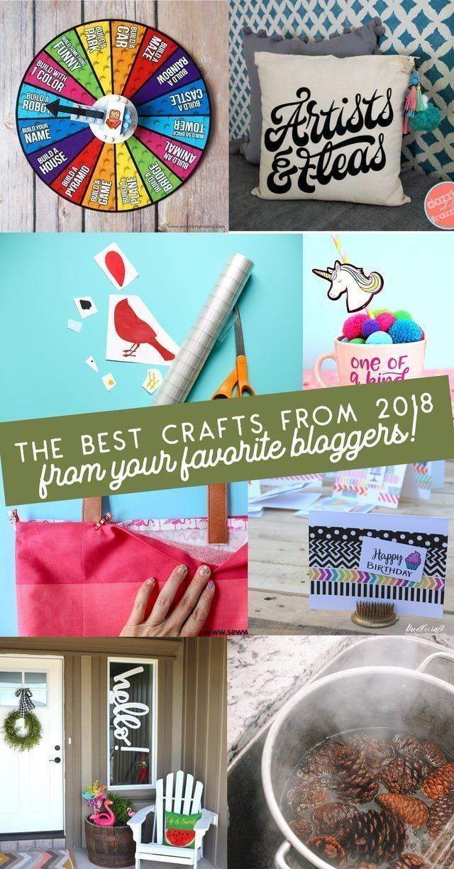 Best Craft Tutorials from 2018 // heatherhandmade.com