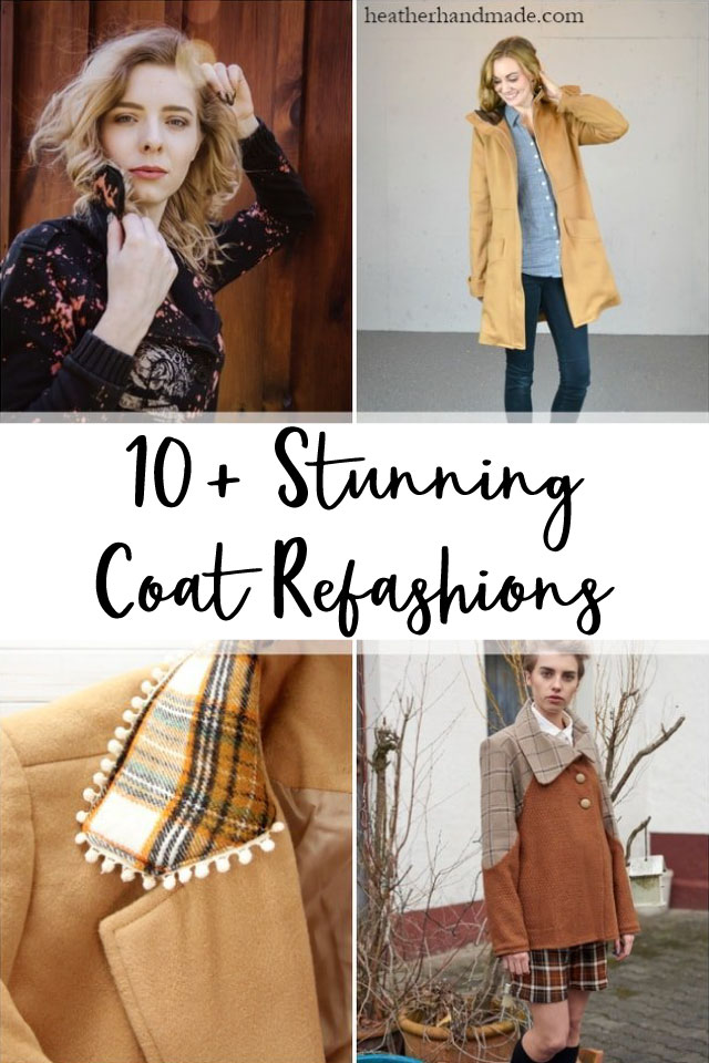 14 Stunning Coat Refashions