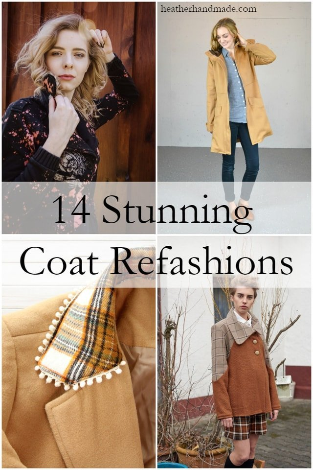spruce up your spring coat with a stylish refashion