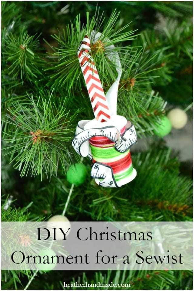 10 Sewing Christmas Ornaments // heatherhandmade.com