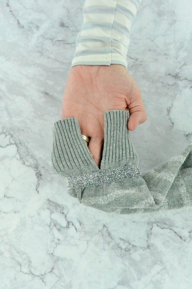 Glitter Sweater Refashion Tutorial // heatherhandmade.com