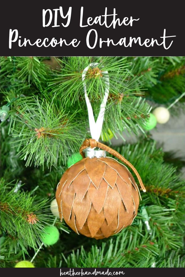 DIY Leather Ornament Tutorial
