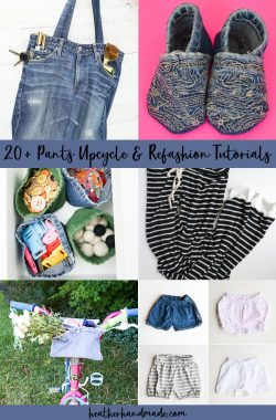 pants upcycle refashion