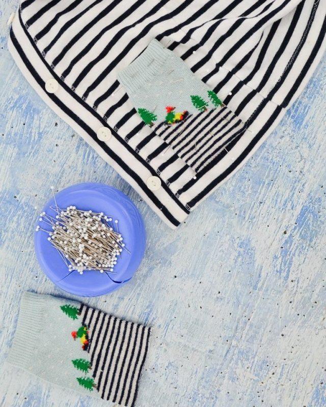 Used Sock Refashion Tutorial // heatherhandmade.com