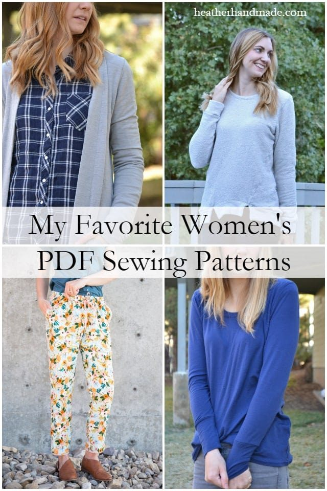 best pdf sewing patterns