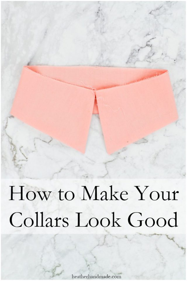 How to Sew a Collar Professionally