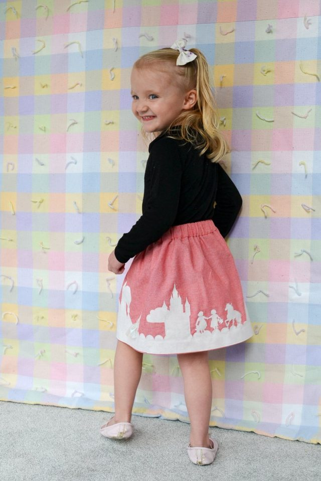 DIY Border Print Skirt // heatherhandmade.com