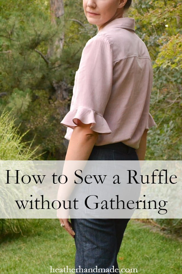 How To Sew Ruffles Without Gathering