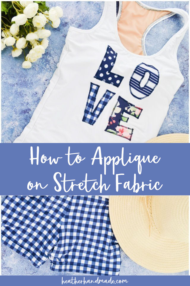 How to Applique on Stretch Fabric