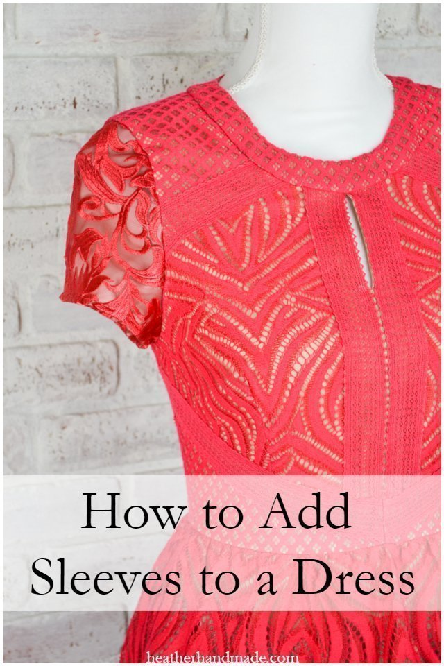 How to Add Sleeves to a Dress