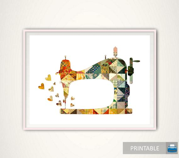 Sewing Machine Printable