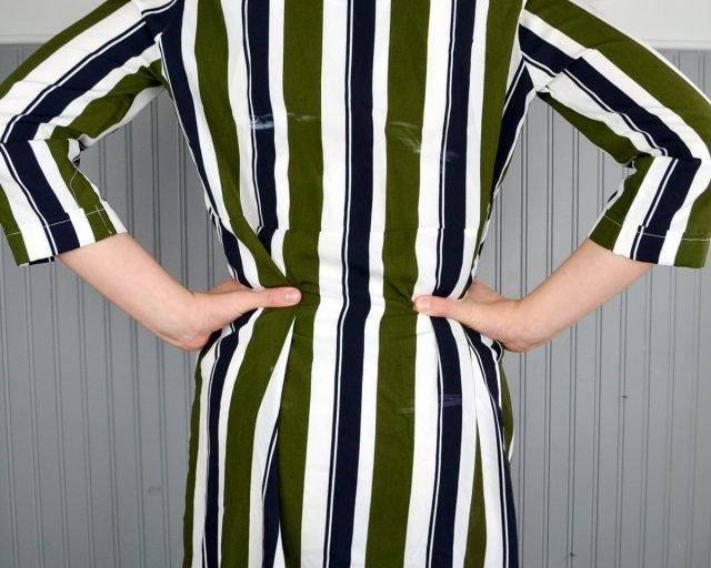 How to Add Back Darts to a Dress // heatherhandmade.com