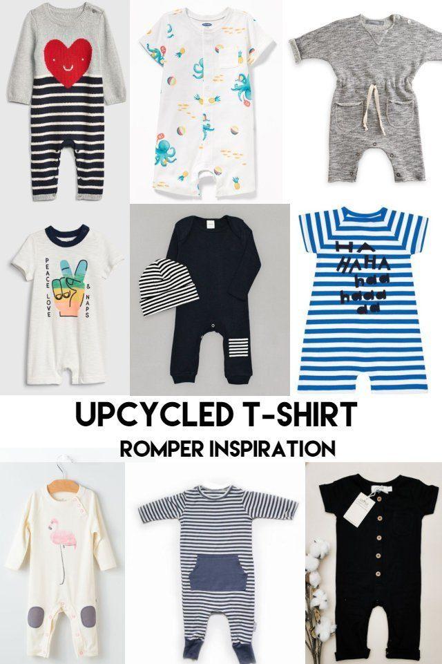 Upcycle Boy Romper
