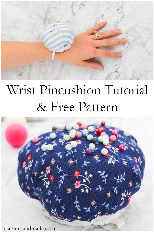 wrist pincushion free pattern