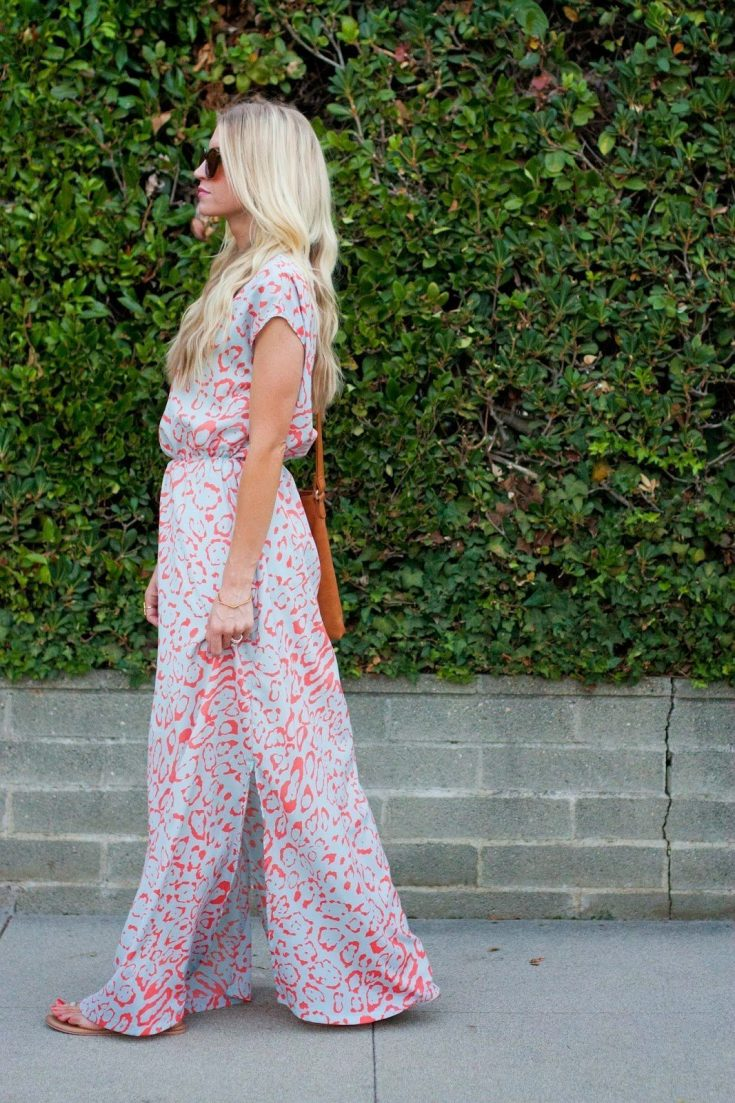 Side Slit Maxi Dress Tutorial