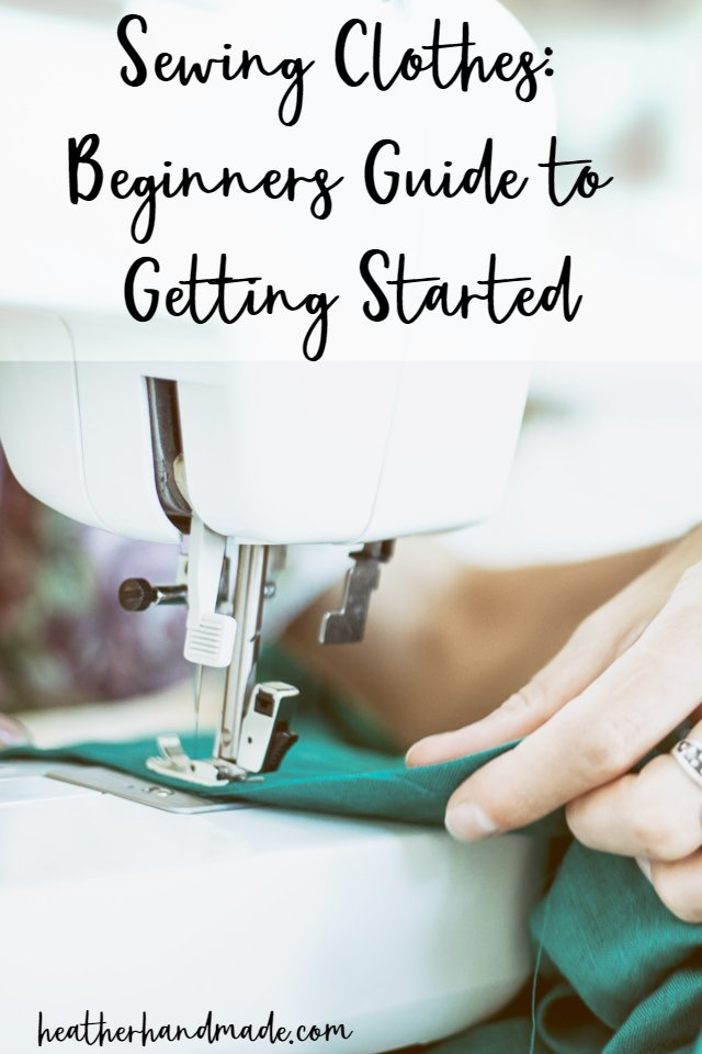 beginner sewing clothes