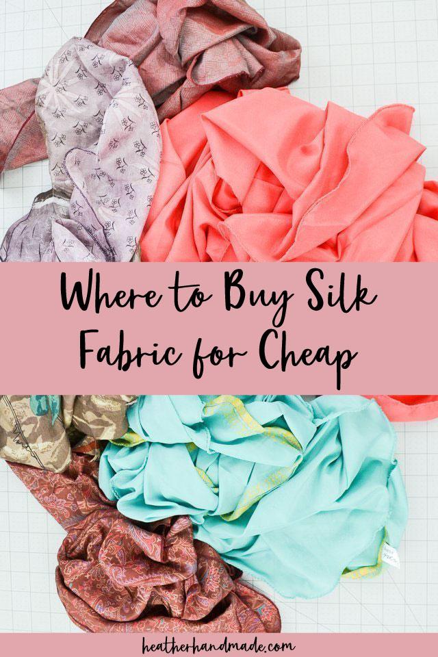 buy silk fabric cheap