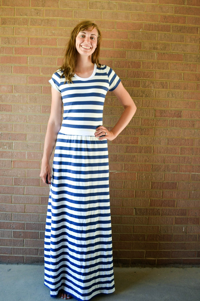 How to Cut out a Maxi Dress