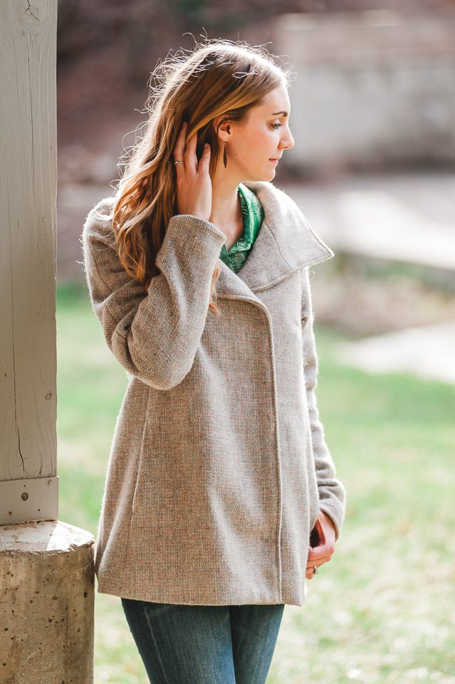 sew wool coat