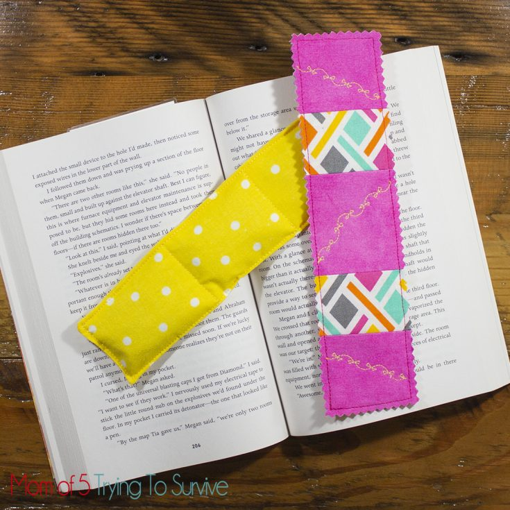 Book Weight and Fabric Bookmark Tutorial