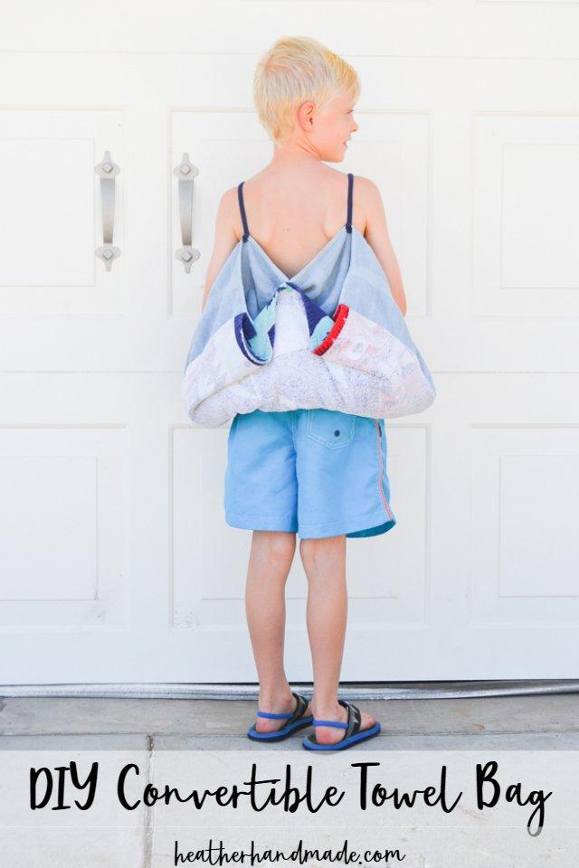 DIY Convertible Bag