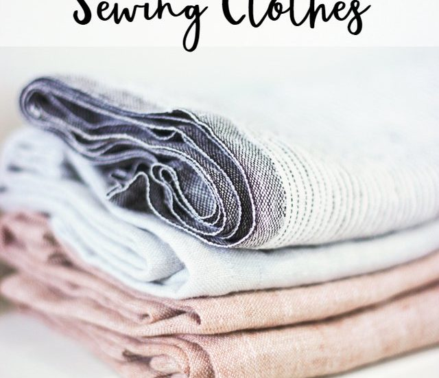 decision process of sewing clothes