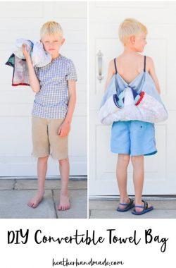 DIY Towel Bag