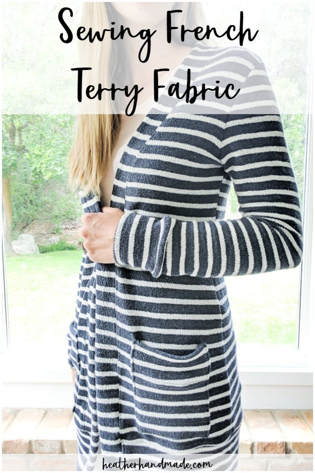 sewing french terry fabric