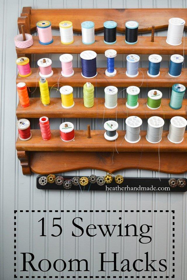 sewing room hacks