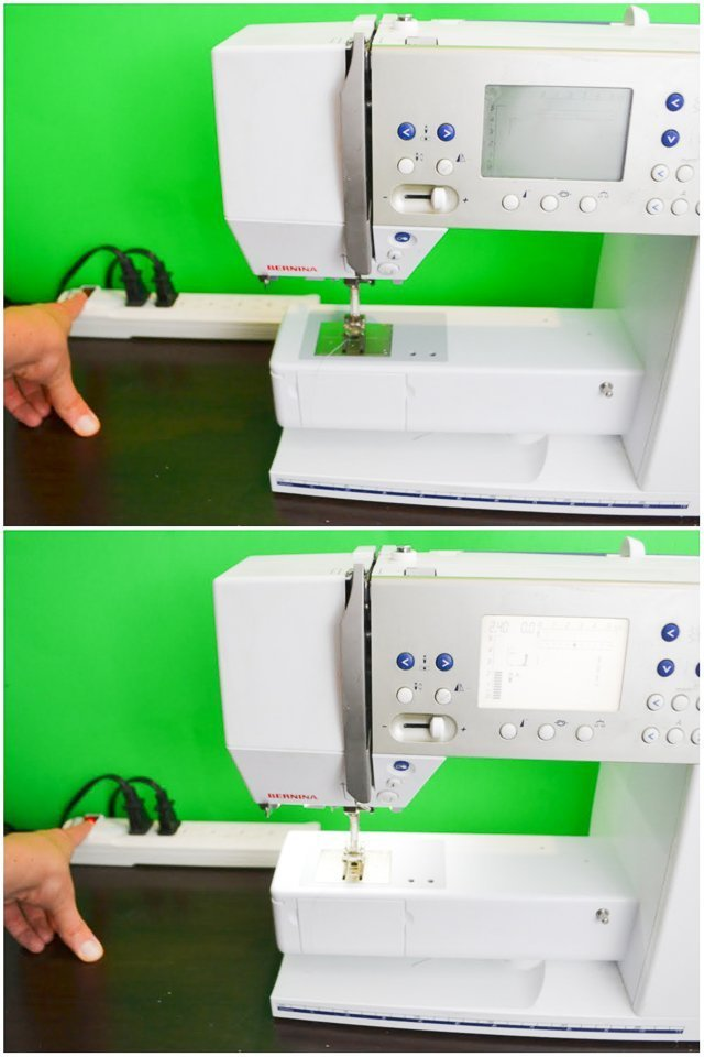 sewing machine sewing room