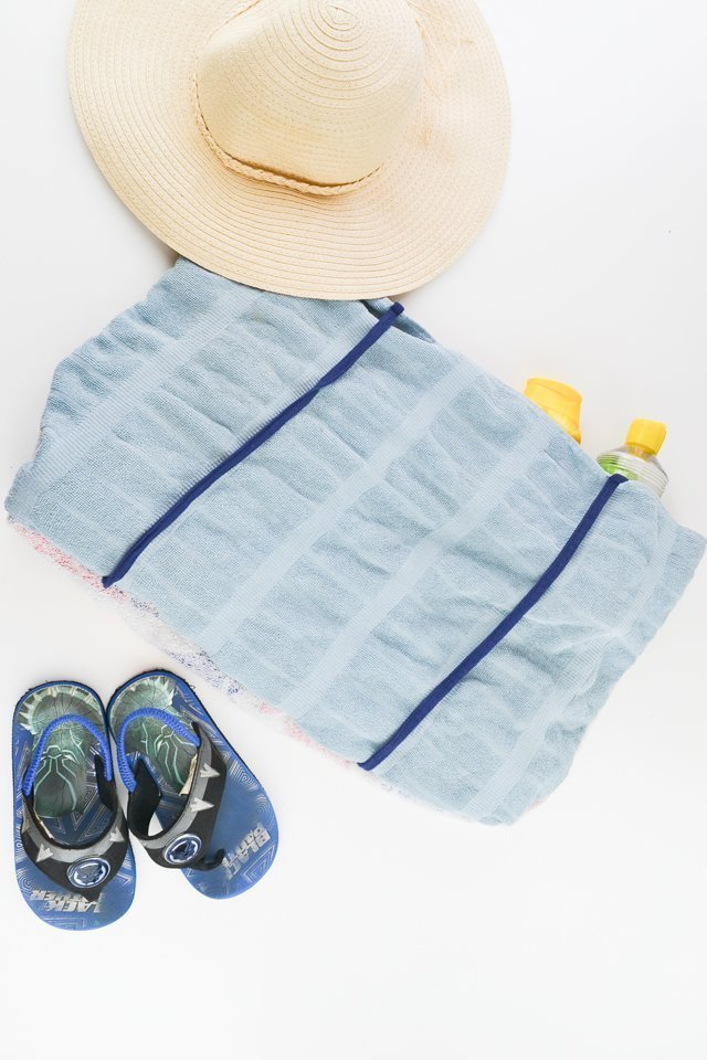 summer Convertible Towel Bag