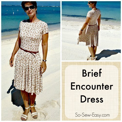 Brief Encounter Dress – Free easy dress pattern