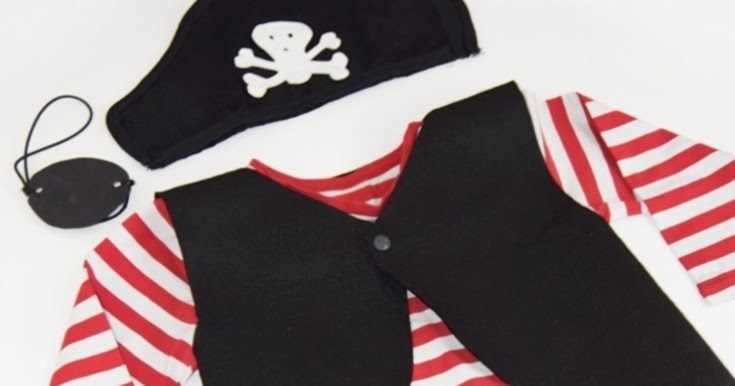 Diy Pirate Costume with Free Pattern
