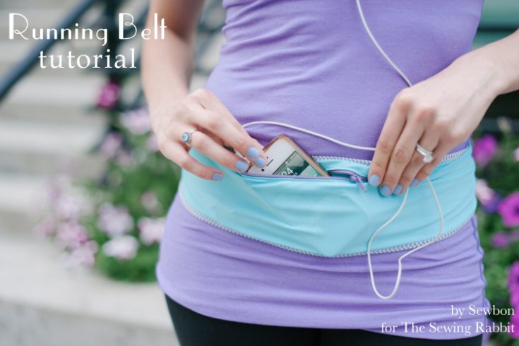 Running Belt DIY - an Easy Sewing Tutorial