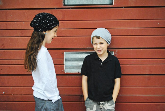tutorial: slouchy beanie sewing pattern
