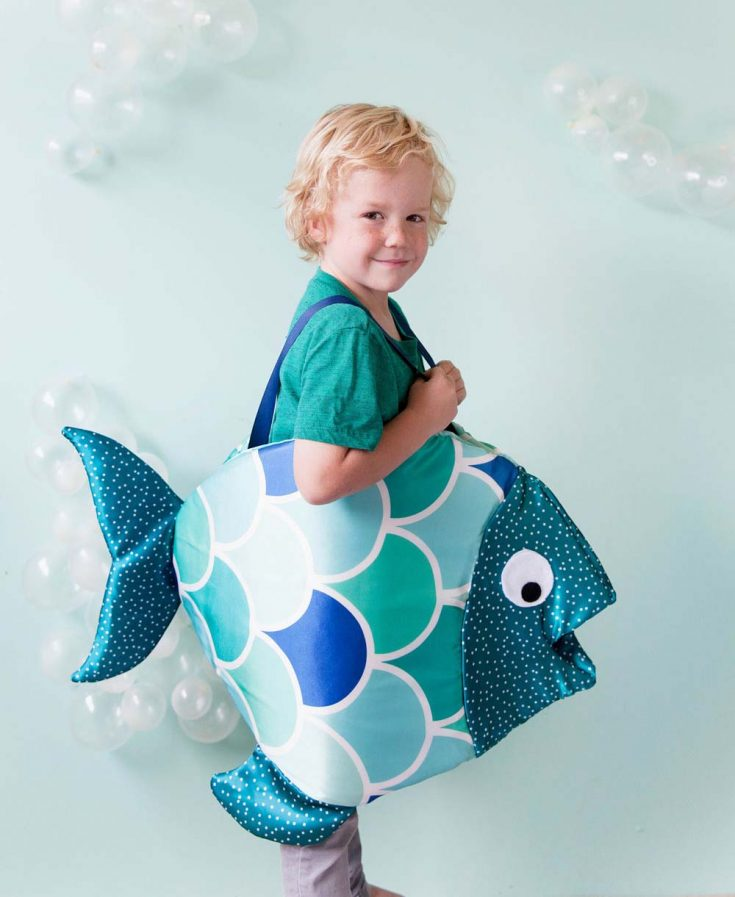 Fish Costume and Free Pattern