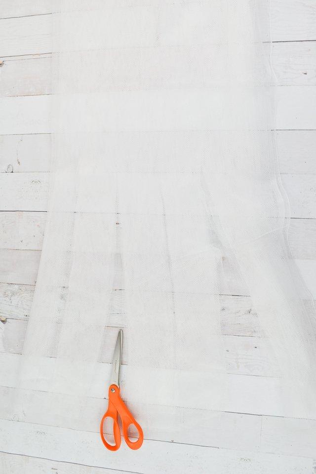 cut fringe on cape