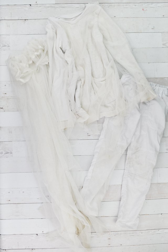 ghost costume details