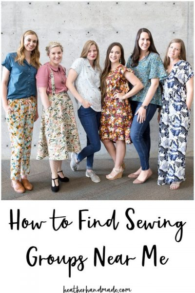 sewing groups near me